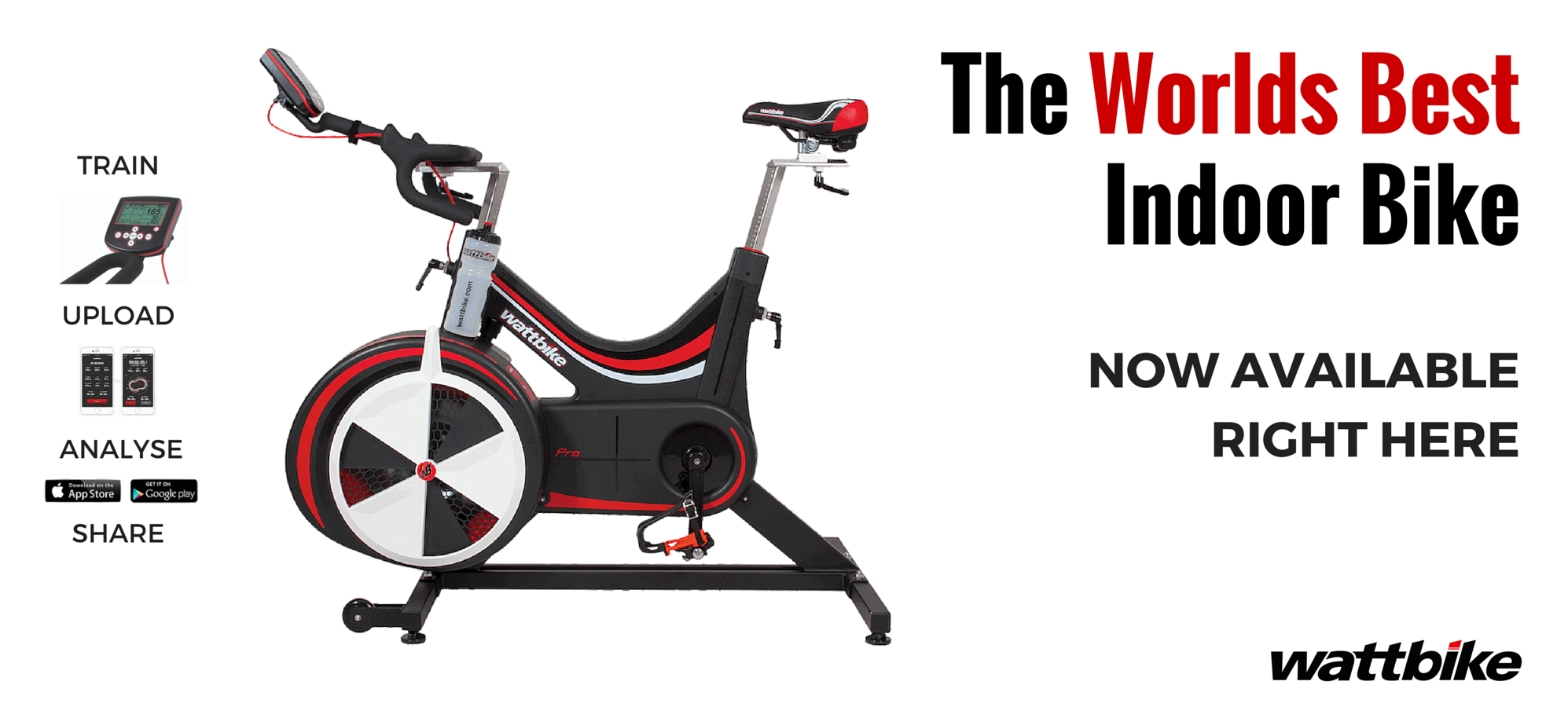 Wattbike now available at summit fitness equipment